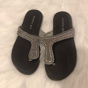 Madden Girl Shoes - Silver madden girl sandals size 7